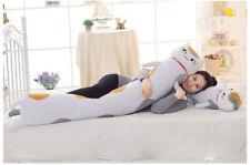 Natsume Yuujinchou Nyanko Sensei Cat Plush Bed Decor Body Hugging Pillows Toys