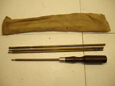 New listing Vintage .22 Cal Rifle/Pistol Cleaning Rod.Wood & Brass