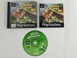 Juego PLAYSTATION 1 PS1 VF Pequeño Dinosaurio El Correr Des Dinos Instrucciones
