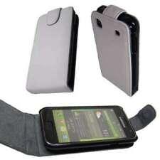 Schutzhülle Tasche für Samsung i9000 Galaxy S Flip Cover Schutz in weiß