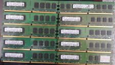 Lot(10 units) of Samsung RAM DDR2-2GB PC2-6400U 800MHZ For  Desktop