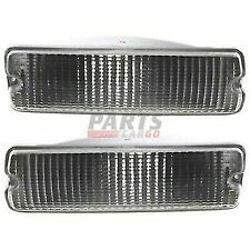 NEW SET OF TWO SIGNAL LAMP LH RH FITS 1991-1993 DODGE D150 55026084 55026085