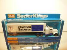 MATCHBOX SUPER KINGS K-31 PETERBILT REFRIGERATION TRUCK SALVESEN VERY GOOD IB