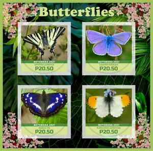 Stamps  Butterflies