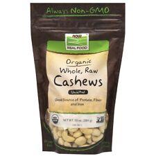 Nouvelle annonce NOW Foods Noix de Cajou, Biologique, Entier, Brut & non Salé 296ml