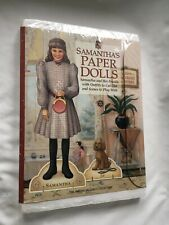 American Girls Collection SAMANTHA'S PAPER DOLLS Jip Friends Outfits Scenes NISP