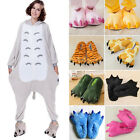 Chidren Adult Cartoon Animal Cosplay Costume Slippers Dinosaur Claw Paw Shoes