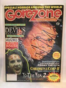 Gorezone #21 Fangoria Horror Movie Magazine