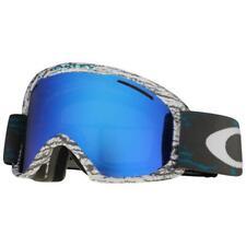 Oakley OO 7045-06 O2 XL Sheridan Teal w/ Black Ice Iridium Snow Ski Goggles .