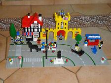 Lego-set 1592-Town Square Château COMPLET A 100 % Vintage Rare