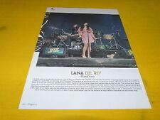 LANA DEL REY - Mini poster couleurs 4 !!!