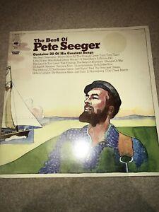 The Best Of Pete Seeger Double Album LP Vinyl 1972