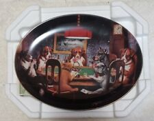 Franklin Mint An Ace in The Hole Limited Edition Collectors Plate W/ Coa