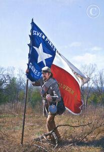 The Texas Battle Flag By John Paul Strain - Artist Proof Executive Canvas Giclée