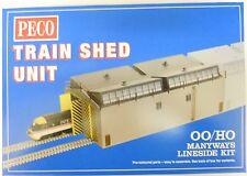 Peco 00/H0 LK-80 -  Train Shed (Depot) Kit            New   (00)   Railway Model