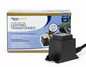 Aquascape® Quick-Connect Transformers for LED Garden and Pond Lighting 6W