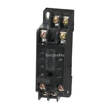 DYF08A 8 broches Din Rail Mount relais de puissance Support Socket Base pour HH52P MY2