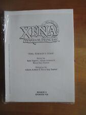 More details for xena warrior princess script and photo fins, femmes & gems season 3 episode 18