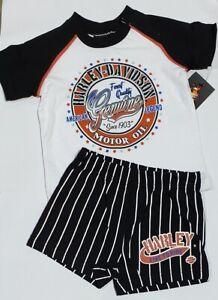 Harley-Davidson Lil Boy's Jersey Short Set