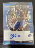 Precious Achiuwa 2020-21 Panini Prizm Draft Picks Rookie RC Auto Blue  8/149