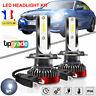 2pcs 110W H7 LED COB Voiture Phare Lampe Feu Headlight Ampoule 6000K  Blanc  DRL