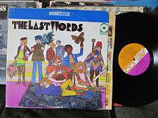 SUNSHINE PSYCH pop ROCK LP THE LAST WORDS 1968 ATCO SD 33-235 STEREO orig oop!