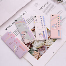 4+1 Unicorn Memo Pad N Times Sticky Notes Escolar Papelaria School Supplies