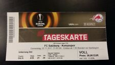 Ticket FC SALZBURG - KONYASPOR KULUBU 2017/18 Europa League Austria Turkey