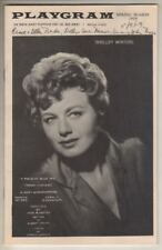 "Shelley Winters   ""A Piece Of Blue Sky""   Playbill  1959  North Jersey Playhouse"