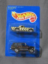New Hot Wheels '57 T-Bird & Range Rover 2 Car Pack #13192 1994 Gold & Black 1:64