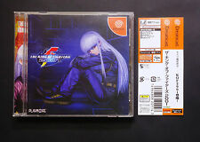 THE KING OF FIGHTERS 2001 Kof Sega Dreamcast JAPAN Good.Condition !