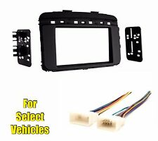 Double Din Car Stereo Radio Dash Kit Combo for some 2016 2017 2018 Kia Sorento