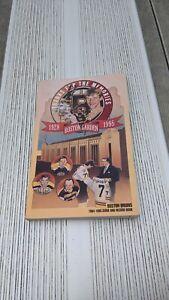 1994-95 Boston Bruins Hockey Media Guide & Record Book