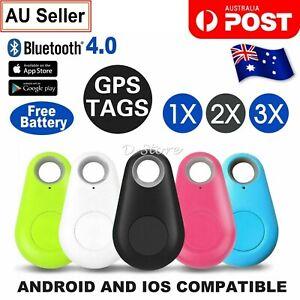 Mini Bluetooth GPS Tracker Dog Pet Tag Smart Finder Locator Key Tracking Tracer