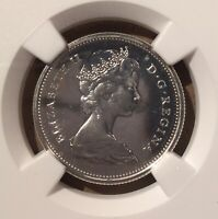 1967 Canada 25 Cents NGC PL 66 CAMEO - Silver - Confederation Bobcat - 12 higher