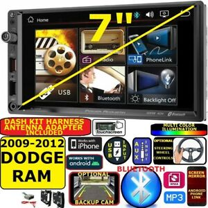 2009 - 2012 DODGE RAM BLUETOOTH VIDEO USB AUX CAR RADIO STEREO PACKAGE