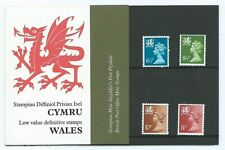 1976  WALES  REGIONAL   DEFINITIVES  PRESENTATION  PACK   Number  86  EXCELLENT