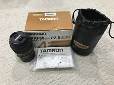 Tamron SP AF 90mm F/2.8 Di Canon Fit (Macro 1:1) - Excellent Condition 272EE