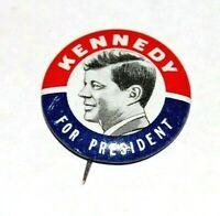 1960 JOHN F KENNEDY JFK campaign pin pinback button badge political presidential