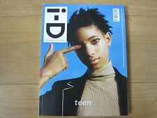 I.D Magazine Fall 2015 Willow Smith By Tyrone Lebon New.
