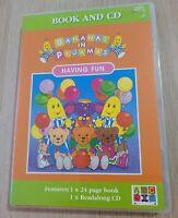 Bananas in Pyjamas Having Fun Book & CD ABC For Kids *RARE*