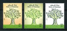 Palestine 2016 MNH Trees Definitives 3v Set Stamps