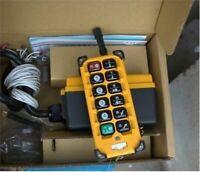 220V Remote Control Telecrane F23-A++ Professional Hoist Crane Radio New la
