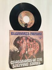 """Elephants Memory - Crossroads Of The Stepping Stones 7"""" Buddah Records 201050"""