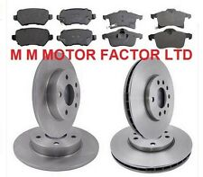 Vauxhall Astra H 1.9 CDTI 150 BHP Front & Rear Brake Discs & Pads Front & Rear