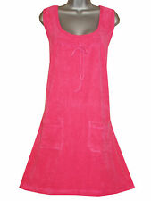 Plus Size Curvaceous Clothing Terry Cotton Dress 18 Tangerine