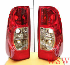 2 x TAIL LIGHTS REAR LAMPS HOLDEN RODEO ISUZU DMAX PICKUP 2007 2008 2009 2010 11