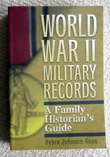 World War II Military Records Family History Guide Draft Casualty Records USA
