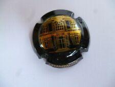 capsule de champagne LANSON, palais de la reine Elisabeth II, noir et or, N°126