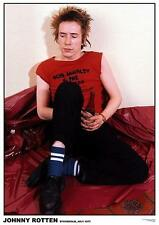 "SEX PISTOLS POSTER ""JOHNNY ROTTEN STOCKHOLM 1977"""